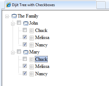 Step 8 Family Tree Unchecked